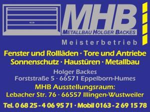 MHB Holger Backes